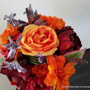 MIX ROSE and PEONY Bouquet Centerpiece